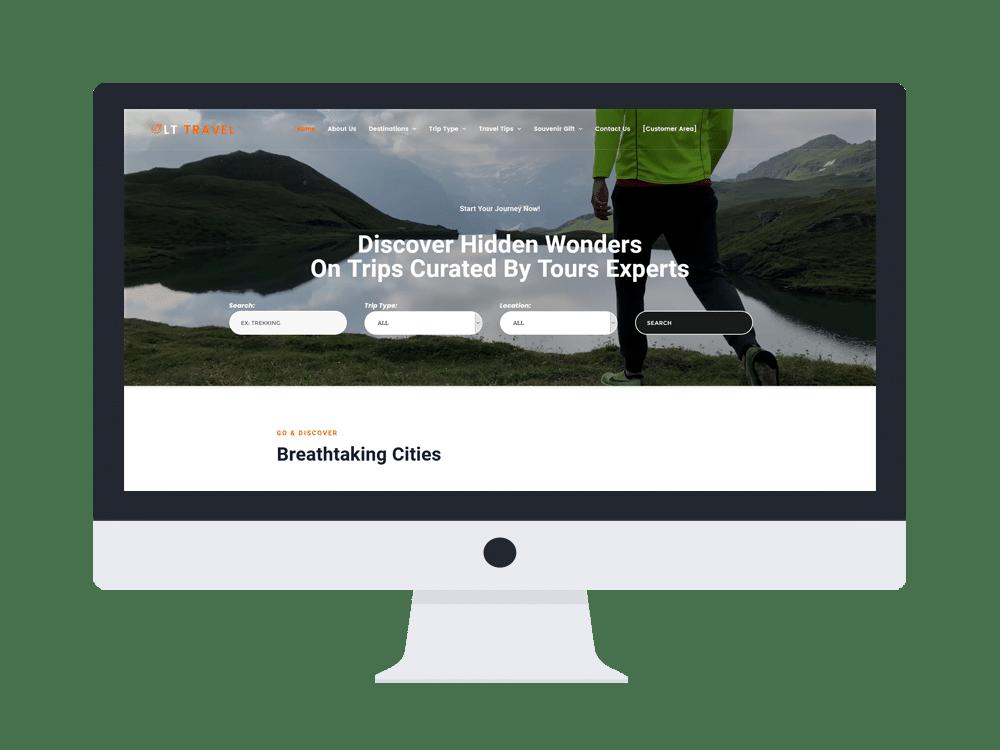lt travel wordpress