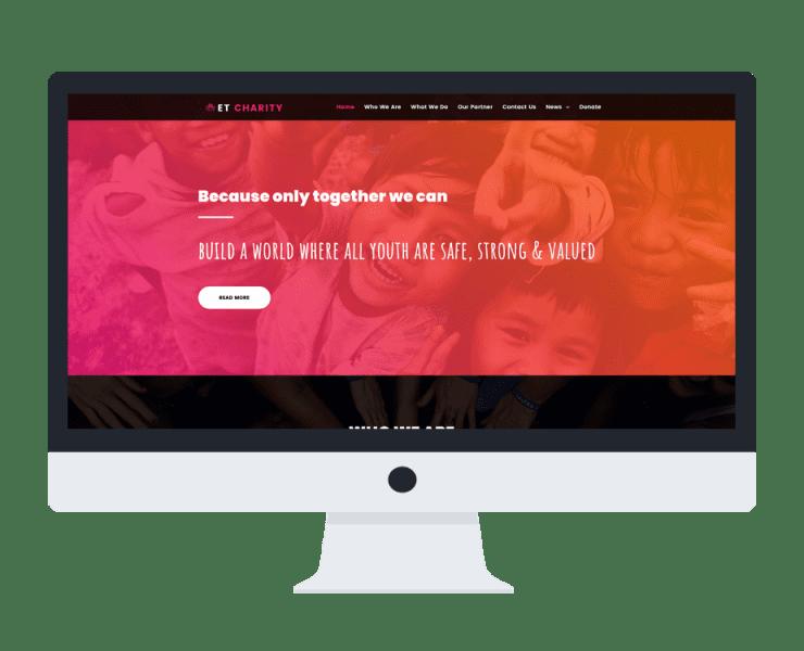et-charity-free-responsive-wordpress-theme-full-screen