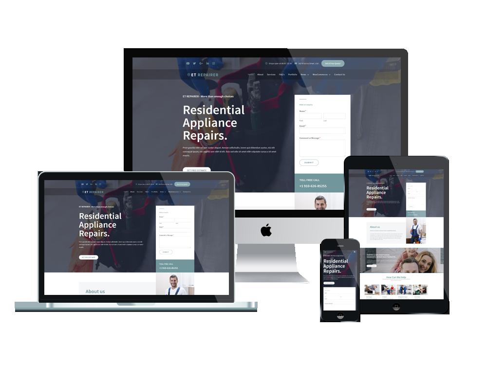et-repairer-free-responsive-wordpress-theme-full-screen