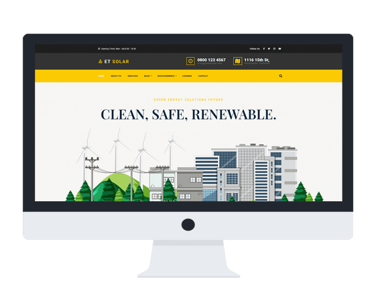 et-solar-elementor-wordpress-theme