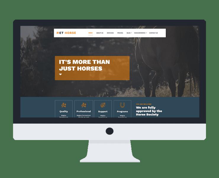 et-horse-wordpress-theme-free