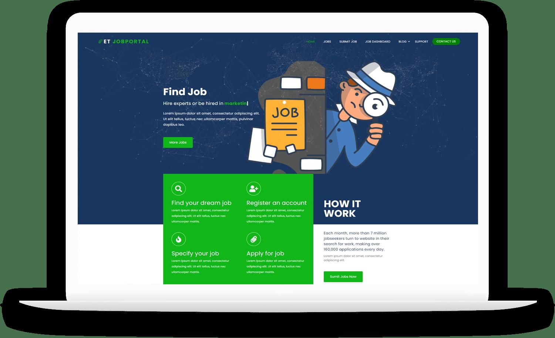 et-jobportal-free-wordpress-theme-elementor