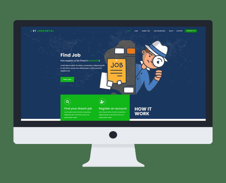 et-jobportal-free-wordpress-theme-responsive