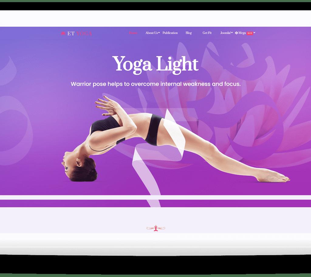 et-yoga-joomla-template