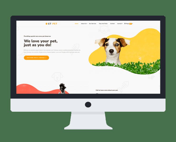 et-pet-responsive-joomla-template-desktop