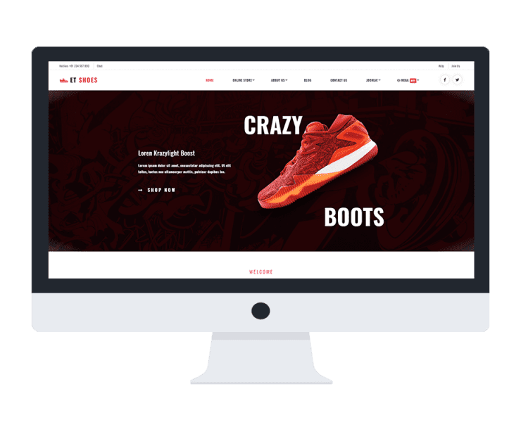 et-shoes-free-joomla-template